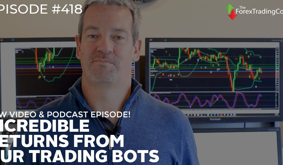 #418: Incredible Returns from Our Trading Bots